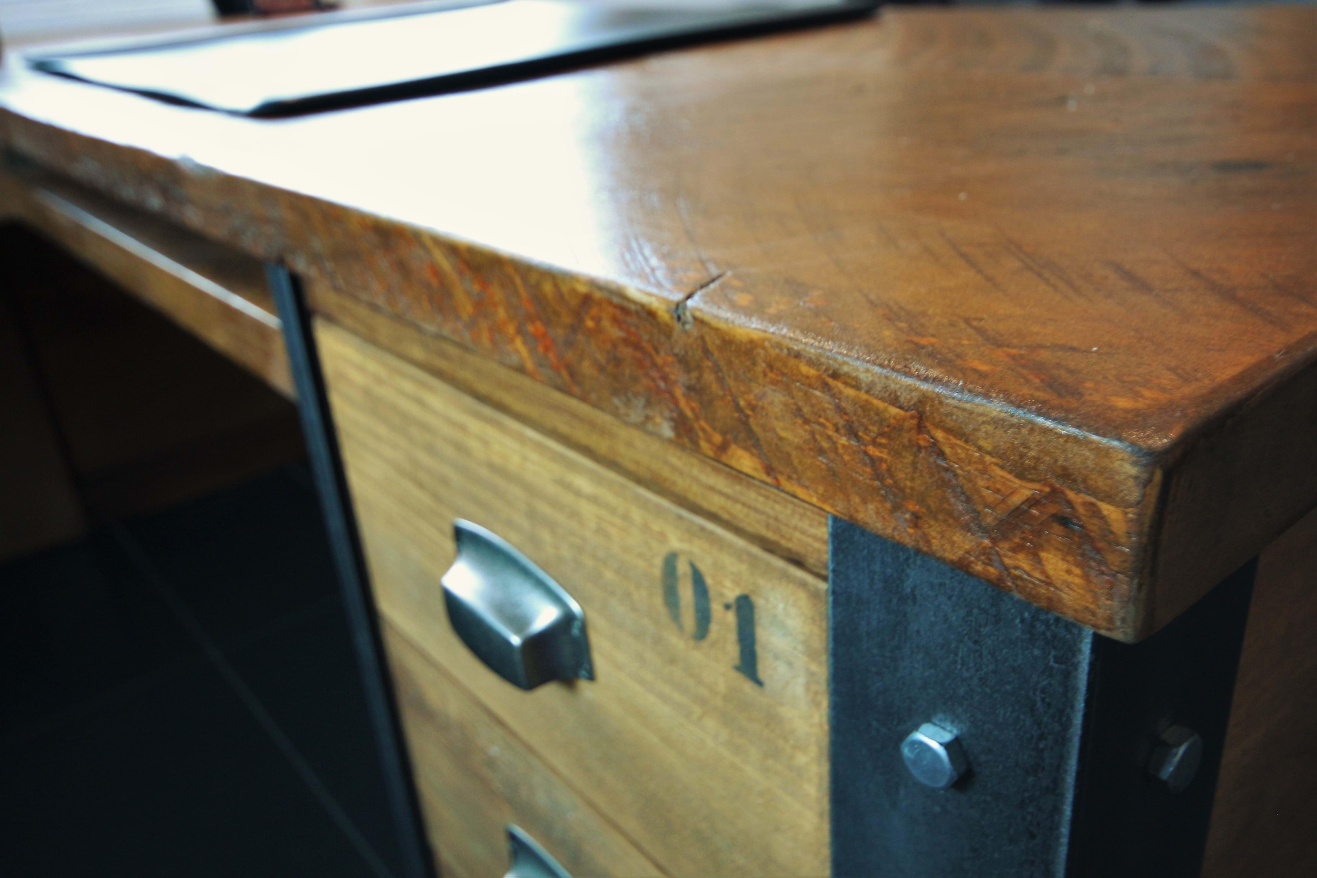 Meubles de bureau style industriel marie lise antiquité design